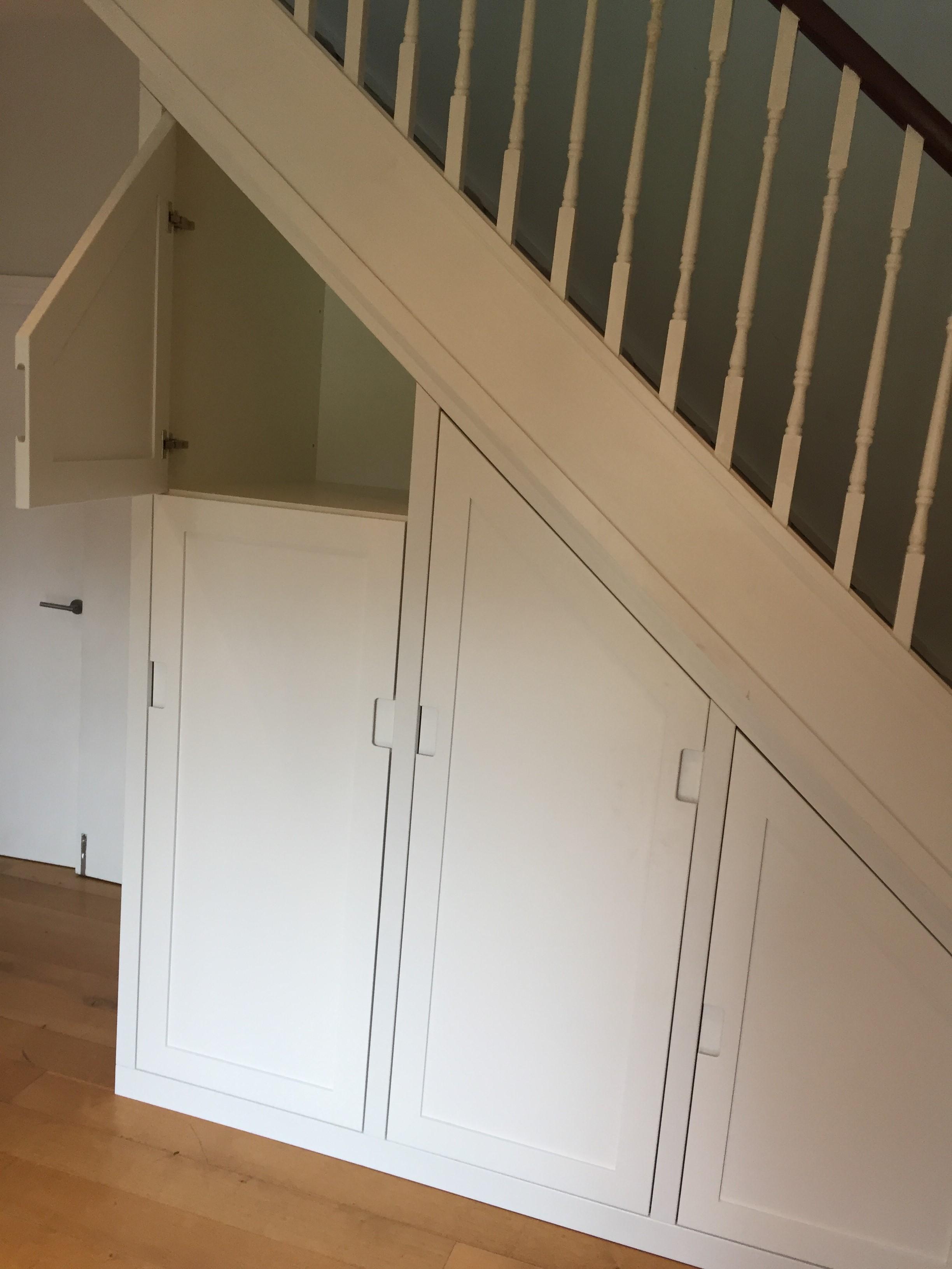 Bespoke Under stair Drawers & Bespoke Understairs Storage | Concept-Carpentry Cambridge