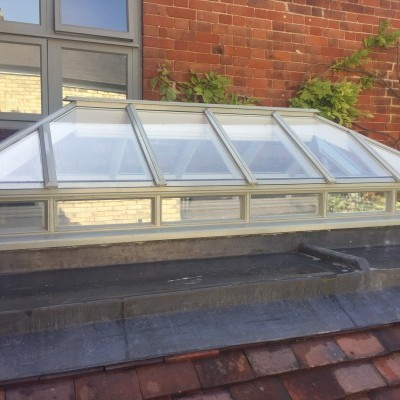Bespoke Joinery Glass roof